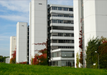 exterior view of the Bielefeld University