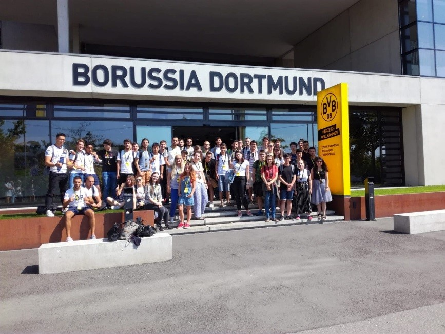 Participants at Borussia Dortmund