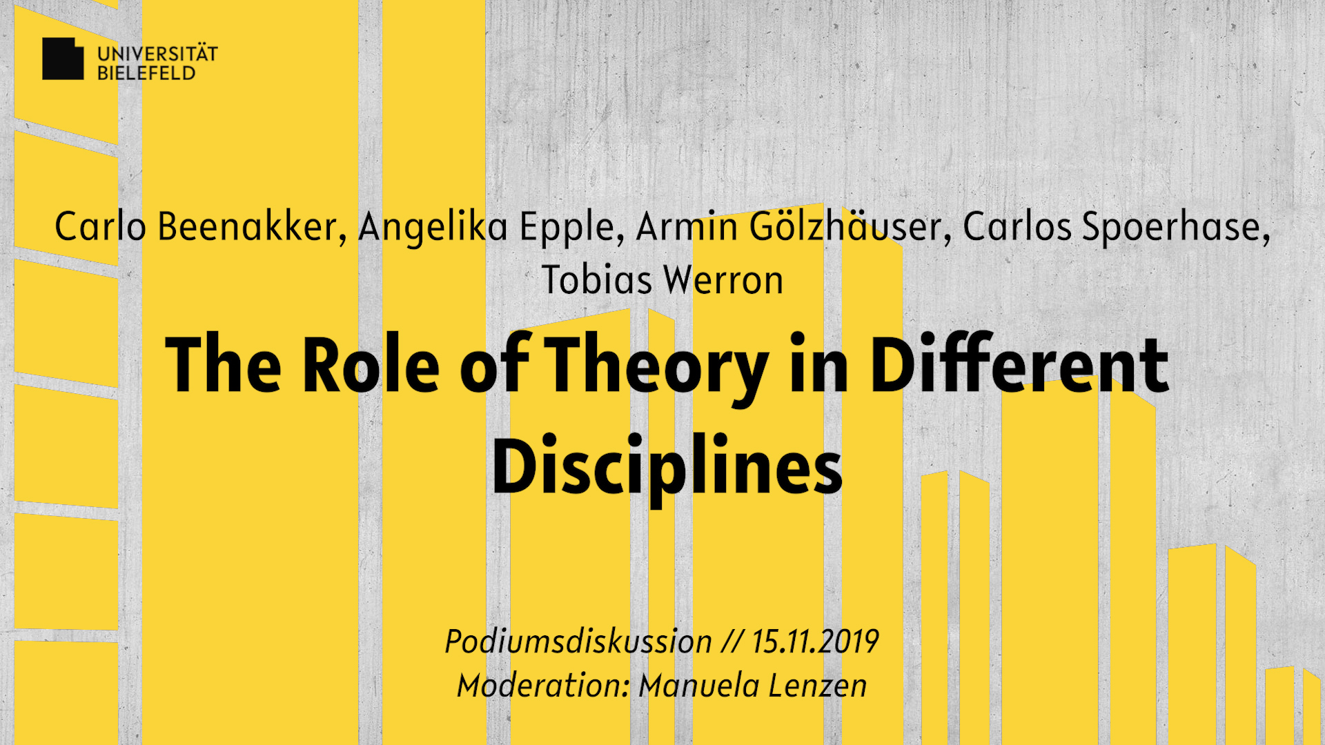 The Role of Theory in Different Disciplines