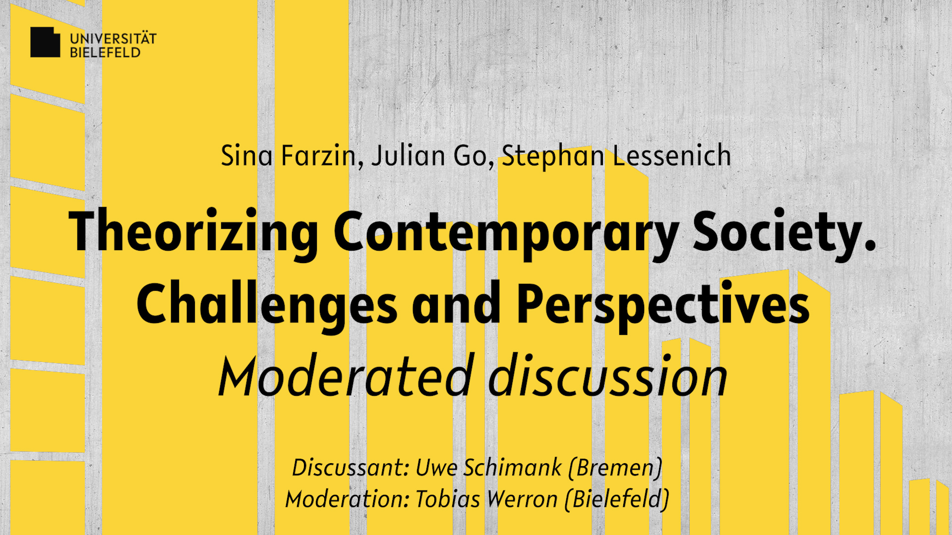 Theorizing Contemporary Society. Challenges and Perspectives