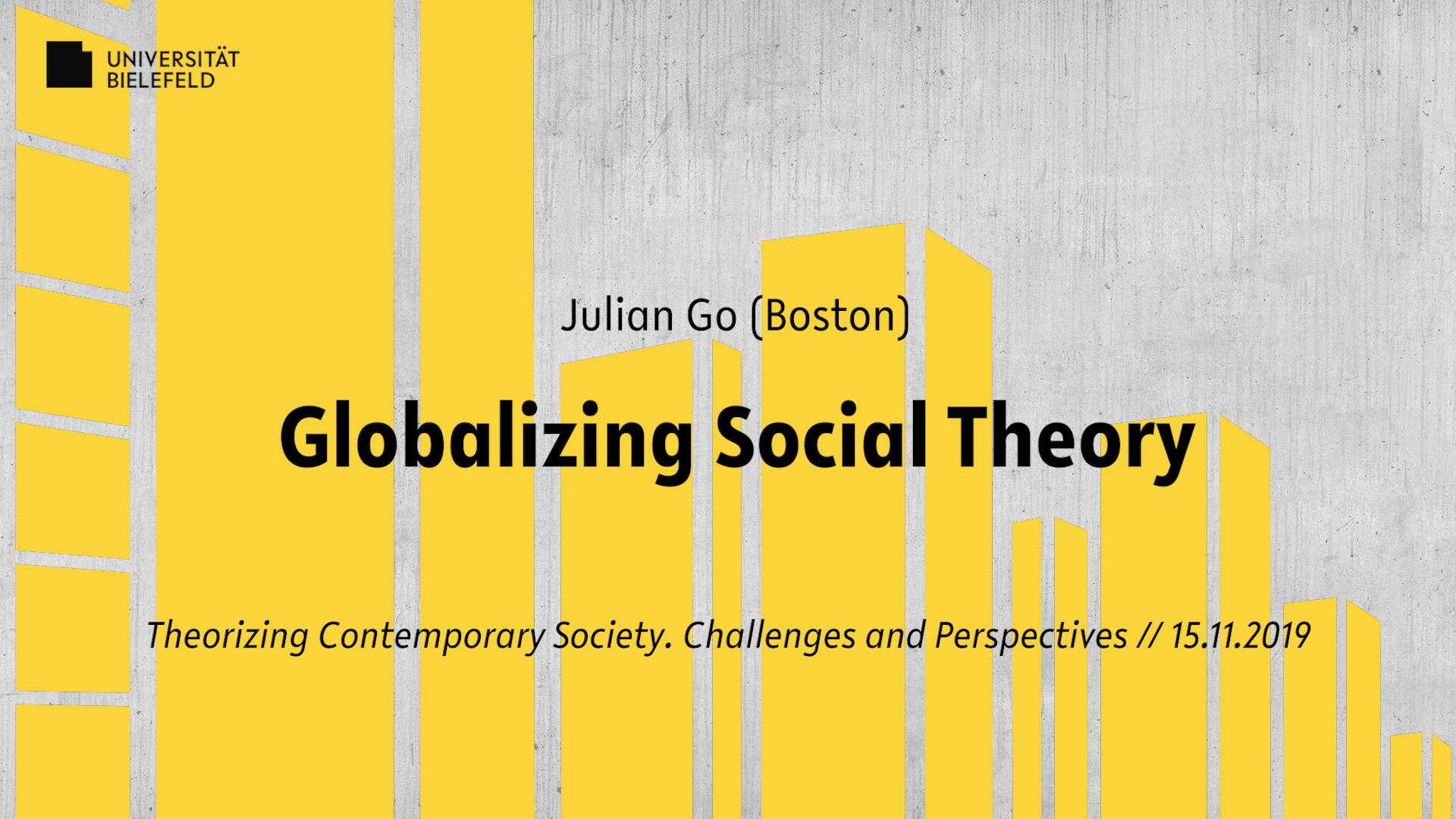 Globalizing Social Theory