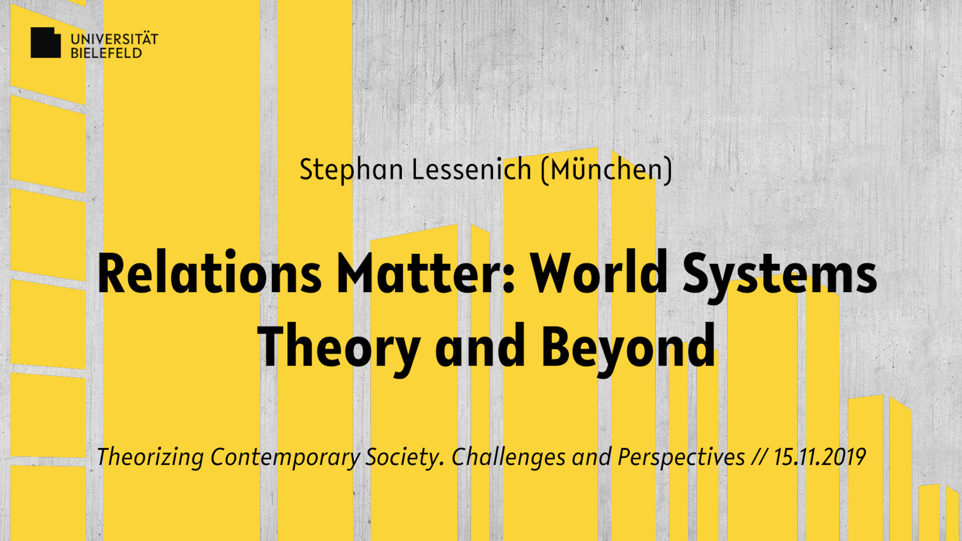 Relations Matter: World Systems Theory and Beyond