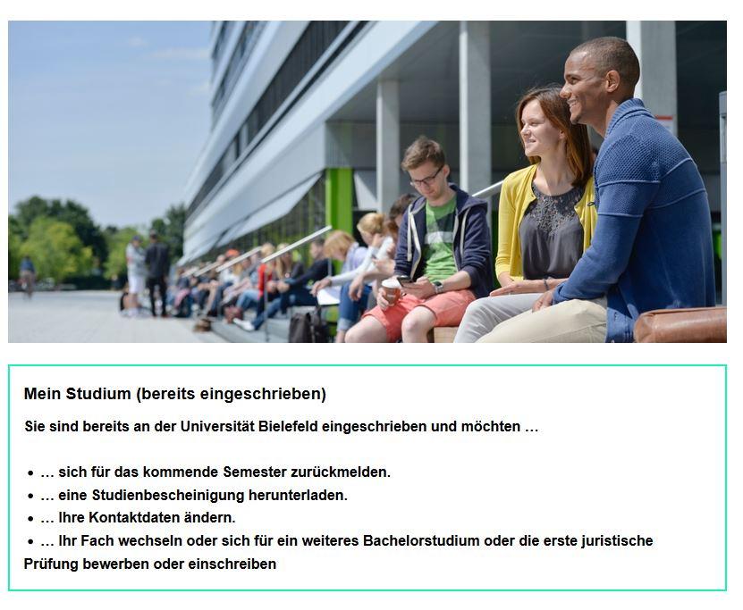 Bewerbung Einschreibung Universitat Bielefeld 1 1
