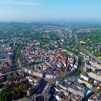Picture from Bielefeld City from Above