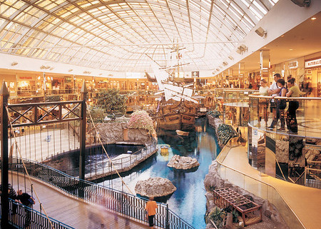 Exhibition in the West Edmonton Mall