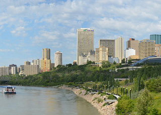 River Valley in Edmonton